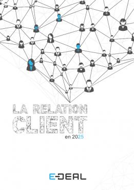 Couverture livre blanc Relation Client 2025