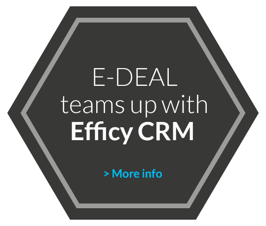 E-Deal teams up with Efficy CRM