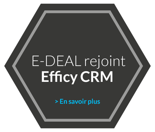 E-Deal rejoint Efficy CRM
