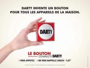 Le bouton darty pour le CRM