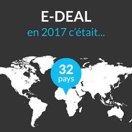 Bilan 2017 pour E-DEAL et son CRM