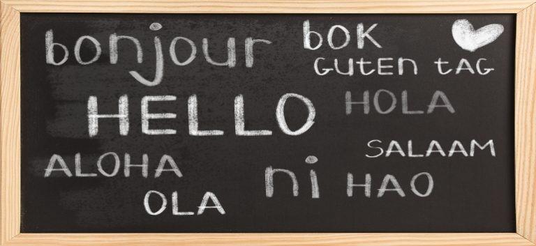 Relación Cliente multilingüe