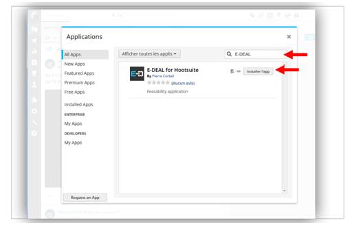 """ En el resultado, haz clic en el botón """"Instalar aplicación""""."""