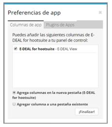Haz clic en Configuraciones