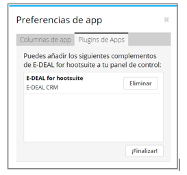 Preferencias de app
